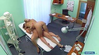 Nurse Seduces Russian After Checkup