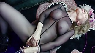 Incredible pornstars Gigi Allens, Penelope Stone and Nina Hartley in horny big ass, threesome adult clip