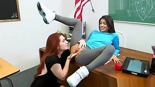 Veronica Rodriguez hot lesbian seduction